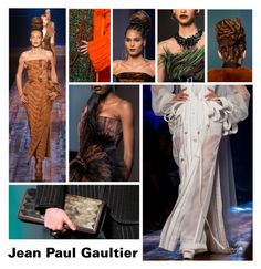 """Jean Paul Gaultier Couture Fall 2016"" by emilyde83 ❤ liked on Polyvore featuring PFW, couture, jeanpaulgaultier, Fall2016 and cindybruna"