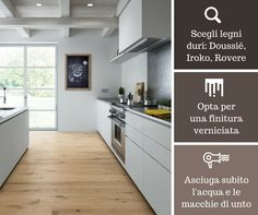 #kitchen and #wood flooring? Yes you can! Here some useful tips.