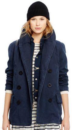 Polo Ralph Lauren Shawl-Collar Pea Coat