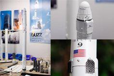 3ders.org - German hobbyist wows Elon Musk with his 3D printed replica Space X rockets | 3D Printer News & 3D Printing News