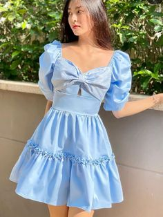 Girly Outfits, Casual Outfits, Cute Outfits, Cute Dresses, Beautiful Dresses, Summer Dresses, Indian Designer Outfits, Designer Dresses, Aesthetic Fashion