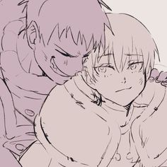 Watch Manga, Shinra Kusakabe, Anime City, Anime Friendship, Dark Anime Guys, Anime Figures, Character Drawing, Anime Comics, Fire Emblem