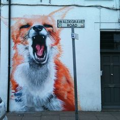 Urban Fox ~ Street Art