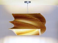 Ecodiseño lamparas de carton 01