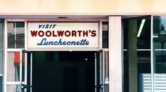 Woolworth's Luncheonette. Gma Mary would take me downtown LA shopping & we'd stop here for a BLT :) in the 50's & 60's
