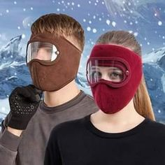 Easy Face Masks, Full Face Mask, Diy Face Mask, Cool Gadgets To Buy, Cool Inventions, Polar Fleece, Diy Mask, Fashion Face Mask, Headgear