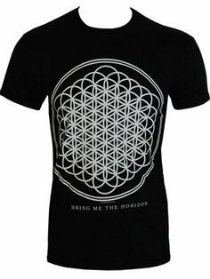 Bring Me The Horizon Sempiternal Men's Black T-Shirt - Offical Band Merch - Buy Online at Grindstore.com
