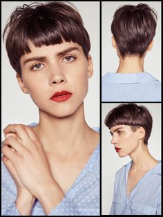 Very Short Haircuts, Short Hairstyles For Women, Hair Inspo, Hair Inspiration, Short Hair Cuts, Short Hair Styles, Hair Fixing, Hair Color And Cut, Hair Reference