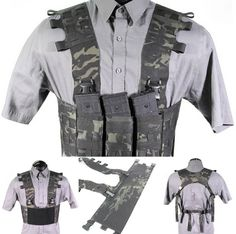 WhiskeyTwoFour Chest Rig Chest Rig, Cool Guns, Guns And Ammo, Tactical Gear, Motorcycle Jacket, Gears, Military, Backpacks, Kit