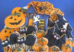 Halloween cookie platter :-)