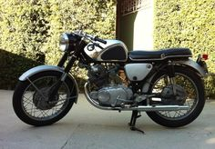 antique motorcycles for sale | 1963 Honda CB77 Motorcycle For Sale