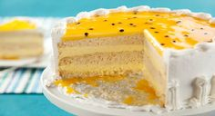 Passion Fruit Cake, Cupcakes, Sponge Cake, Relleno, Vanilla Cake, Sweet Recipes, Cheesecake, Gluten, Pie