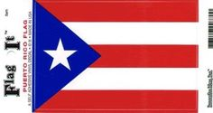 Puerto Rico Heavy Duty Vinyl Bumper Sticker (3 x 5 Inches) - http://coolgadgetsmarket.com/puerto-rico-heavy-duty-vinyl-bumper-sticker-3-x-5-inches/
