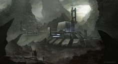 Outpost facility by ~bzartt on deviantART