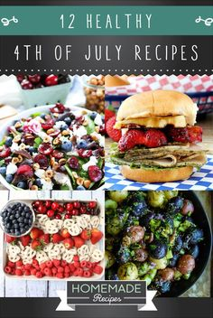 4th of july hamburger recipes