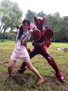 no title Kamen Rider Ooo, Kamen Rider Series, Space Costumes, Pretty Asian Girl, Monkey King, Fantasy Armor, Power Rangers, Marvel Entertainment, Animation