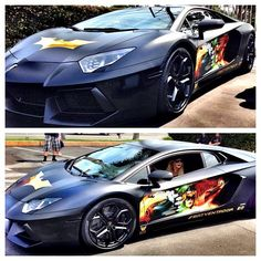 awesome The Lambo 'Batventador' gets some new cool Comic Book artwork...  Luxury Car Lifestyle