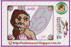 Disney Fairies perler bead pattern by Carina Cassol