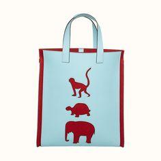 Animal bag | Hermès USA Hermes Men, Animal Bag, Bag Men, Branded Bags, Hong Kong, Color Schemes, Reusable Tote Bags, Canvas, Unique
