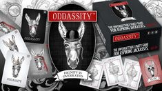 Oddassity: The Unforgettable Party Game on Kickstarter!      Oh, the Audacity of Oddassity! Oddassity is a social card game of ridiculous improv challenges and absurd dares.