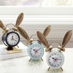 The Emily + Meritt Bunny Alarm Clock | HolyCool.net