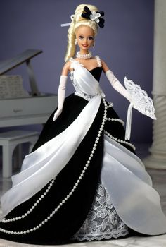 *1996 Midnight Waltz Barbie, Pop Culture, Ballroom Beauties