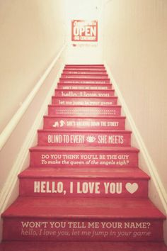 stairs. cutiee.