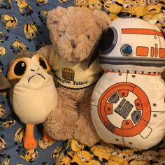 #porgs #bb8droid #kensingtonpalace bear. They are helping me lesson plan.