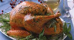 Herb Roasted Turkey Recipe | http://aol.it/1uXwLjv