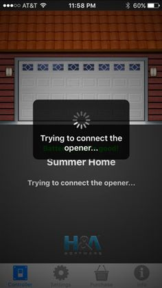 To use #garage #door app, you must first download it from the internet. It can be downloaded from Google Play or the App Store. Read more at: https://www.mygarageopener.com/universal-garage-door-opener-app/