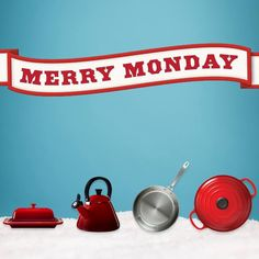 Give Le Creuset and make every day Merry!