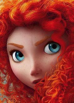 Princess Merida from Brave #fairytales #disney