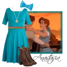 """Anastasia's New Dress"" by nightwatchman54 on Polyvore"