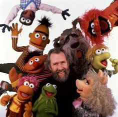 I really admire the late Jim Henson's creativity as a puppeteer and entertainer.  The Muppets & the Fraggles are two of his most well-known productions.