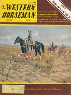 May 1977 The Western Horseman Magazine Horses Riding Clubs Ranchers Breeders