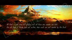 Tolkien poetry.