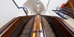 The St-Anna Tunnel in Antwerp.  by koos.fernhout