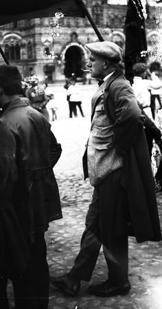 Vladimir Mayakovsky on Red Square, May 1st, 1928 . Mayakovsky was one of the dominant poets of the 20th century, and also a playwright, screenwriter, film actor, artist, and editor of LEF magazines. Moscow, Russia.