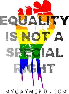 NO ONE on earth has the right to say anyone else should not have rights, unless…