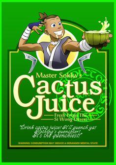 Master Sokka's Cactus Juice! shirtby ~a745