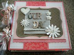 Scrapbooking by Phyllis: Wedding 12x12 Chipboard Scrapbook Photo Album