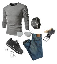 Strong & Sexy by keri-cruz on Polyvore featuring Italia Independent, TheLees, American Eagle Outfitters, Mezlan, Michael Kors and Polo Ralph Lauren
