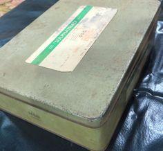 SULPHATRIAD Pharma  Medical Collectible Empty TIN sign Box May & baker Ltd India