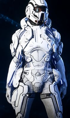 This mod changes the lights of the Heles armors (all levels male and female) to blue and also REMOVES THE OIL TINT! Robot Concept Art, Armor Concept, Robot Art, Futuristic Armour, Futuristic Art, Armadura Sci Fi, Space Armor, Combat Armor, Female Armor