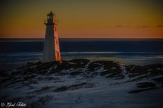 Dawn Lighthouse by gord follett on 500px