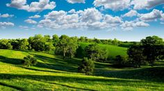 The beautiful green hills photography of the nature.