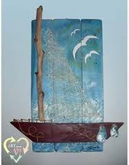 Αποτέλεσμα εικόνας για κατασκευες με ξυλα θαλασσης