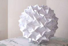 DIY Origami lantern tutorial