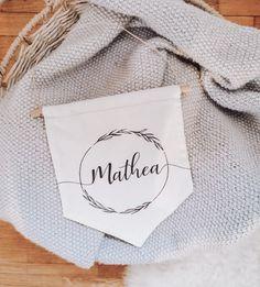 Süßes Schild mit deinem Wunschnamen Napkins, Name Tags, Towels, Napkin