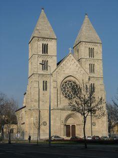 Árpád-házi Szent-Margit templom, Budapest Budapest, Cathedrals, Hungary, Barcelona Cathedral, Notre Dame, Christianity, Europe, Culture, Landscape